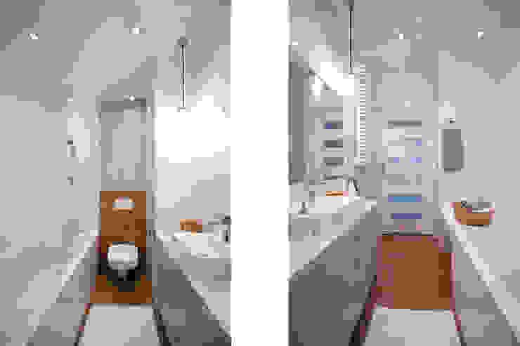 Moderne Badezimmer von IDAFO projektowanie wnętrz i wykończenie Modern
