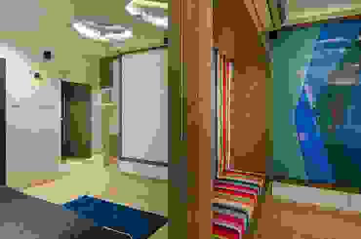 Residential-Chintubhai: modern  by J9 Associates,Modern Textile Amber/Gold