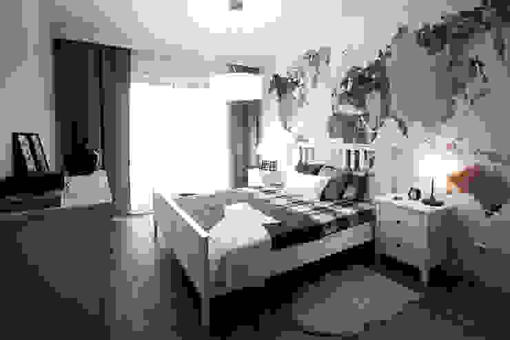 Scandinavian style bedroom by IDAFO projektowanie wnętrz i wykończenie Scandinavian