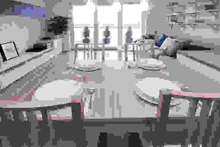 Comedores de estilo escandinavo de IDAFO projektowanie wnętrz i wykończenie Escandinavo