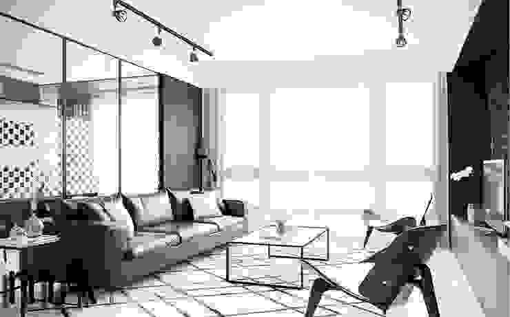MENTAL ARC DESIGN Living roomAccessories & decoration Wood-Plastic Composite Black
