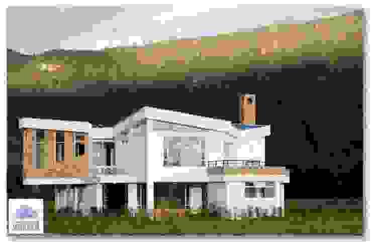 Maisons modernes par GRUPO CORTAZAR Moderne