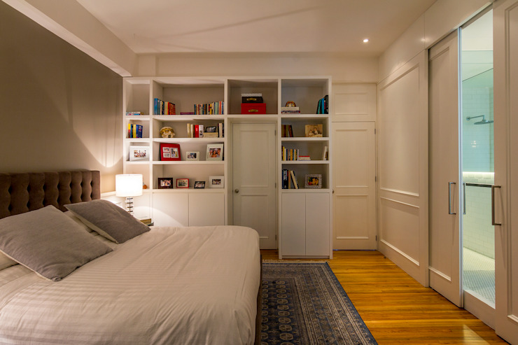 Eclectic style bedroom by Weber Arquitectos Eclectic