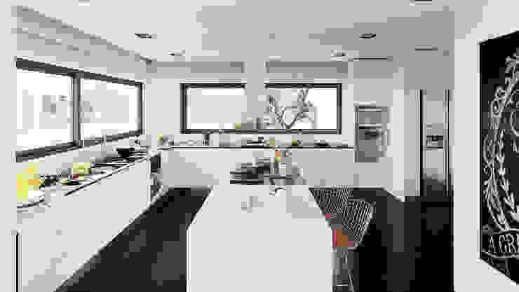 Cocinas de estilo moderno de MyWay design Moderno