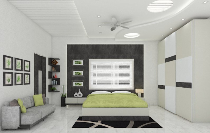Bedroom by Nabh Design & Associates