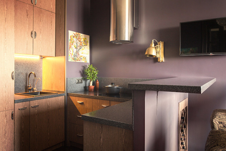 Nataly Komova Kitchen Purple/Violet