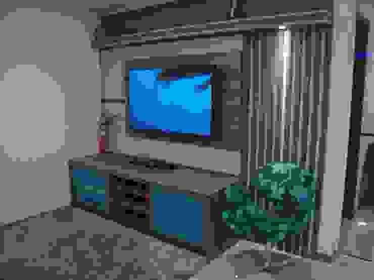 A. Borges Móveis Living roomShelves MDF