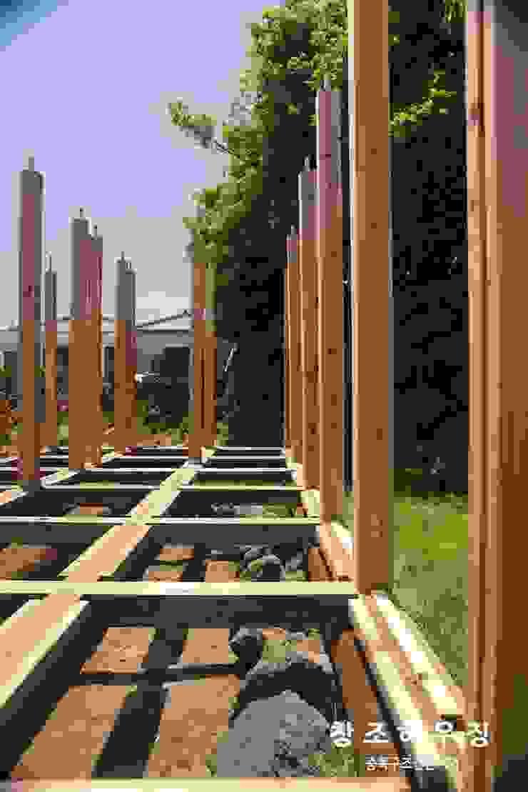 [중목구조 전문브랜드 창조하우징] 히노끼 통나무집 by 창조하우징