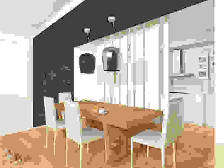 Flavia Benigni Architetto Comedores de estilo moderno