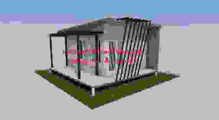 แบบบ้าน 1 ชั้น โดย รับเขียนแบบบ้าน&ออกแบบบ้าน โมเดิร์น