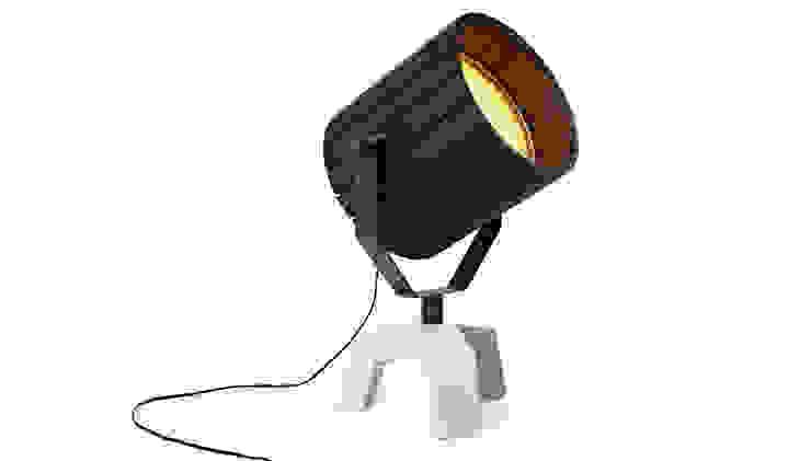Barrel Lamp van Nieuwe Heren Industrieel Beton