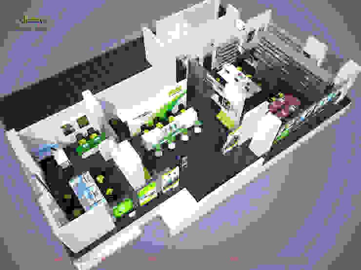 Phối cảnh tổng thể: hiện đại  by Công ty TNHH Thiết kế và Ứng dụng QBEST, Hiện đại