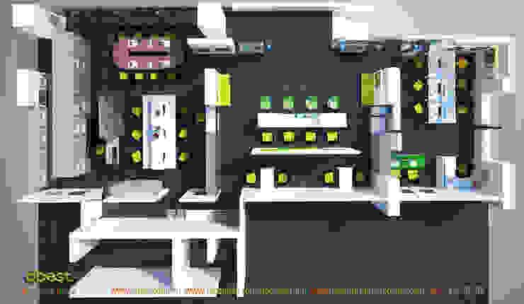 Mặt bằng tổng thể: hiện đại  by Công ty TNHH Thiết kế và Ứng dụng QBEST, Hiện đại