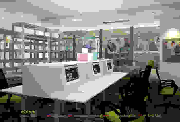 Phòng kỹ thuật bảo hành: hiện đại  by Công ty TNHH Thiết kế và Ứng dụng QBEST, Hiện đại