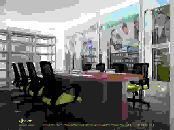 Phòng họp: hiện đại  by Công ty TNHH Thiết kế và Ứng dụng QBEST, Hiện đại