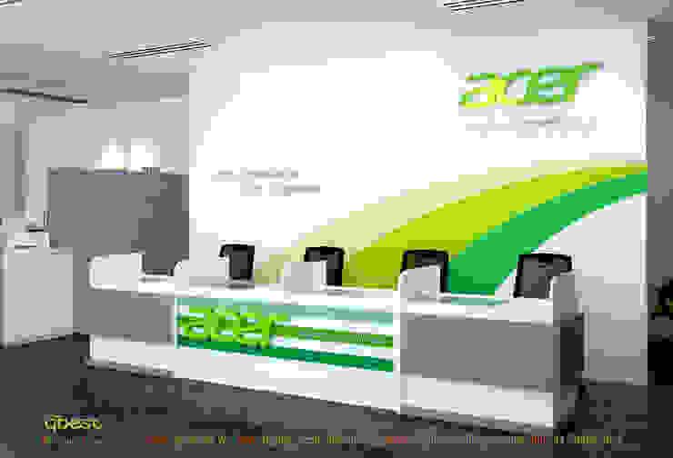 Quầy counter: hiện đại  by Công ty TNHH Thiết kế và Ứng dụng QBEST, Hiện đại