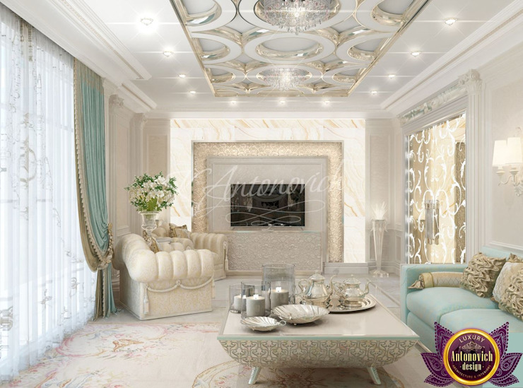 ​ Interior design majlis of Katrina Antonovich by Luxury Antonovich Design Asian