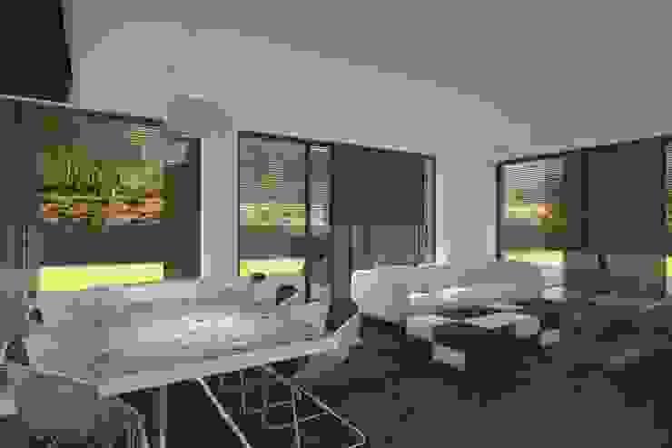 Projeto Opala Salas de estar modernas por Magnific Home Lda Moderno