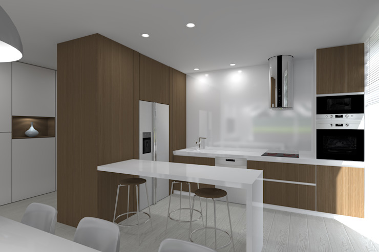 Cucina minimalista di Magnific Home Lda Minimalista