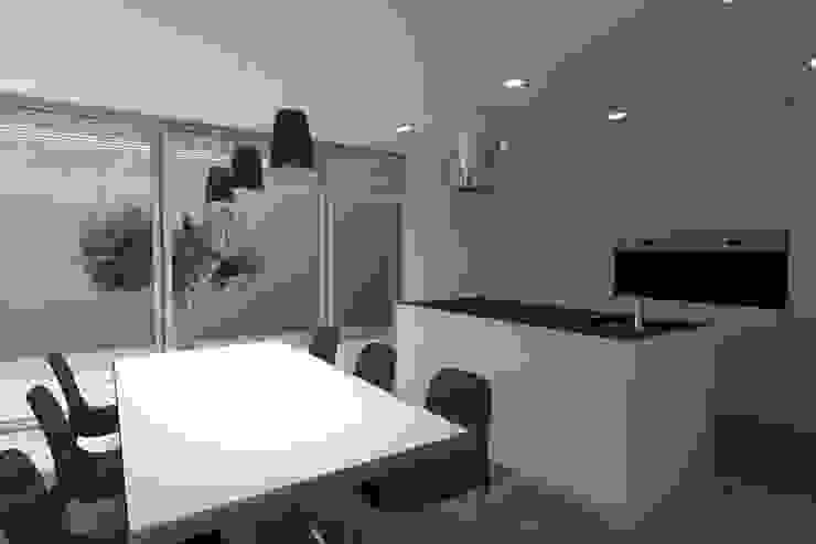 Projeto Turmalina Magnific Home Lda Salas de jantar modernas