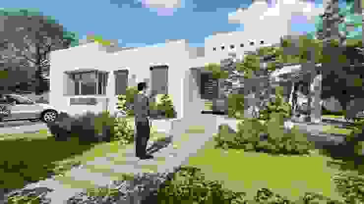 Casa Neira. Gorbea 2017 Casas estilo moderno: ideas, arquitectura e imágenes de homify Moderno Ladrillos