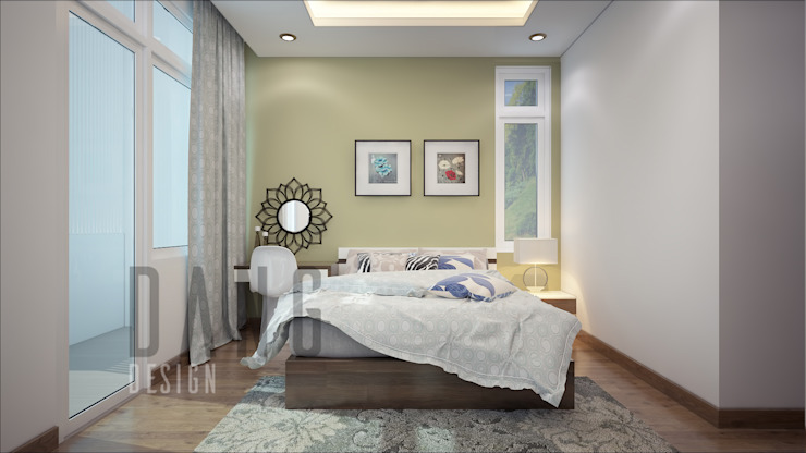 Rustic style bedroom by DCOR Rustic