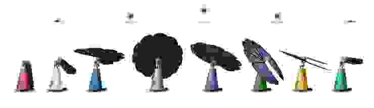 Smartflower – O primeiro sistema de energia solar <q>all in one</q> do Mundo Magnific Home Lda Jardins modernos