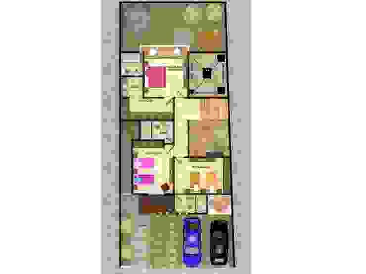 Casas de estilo  por Protocolo Ingeniería & Arquitectura