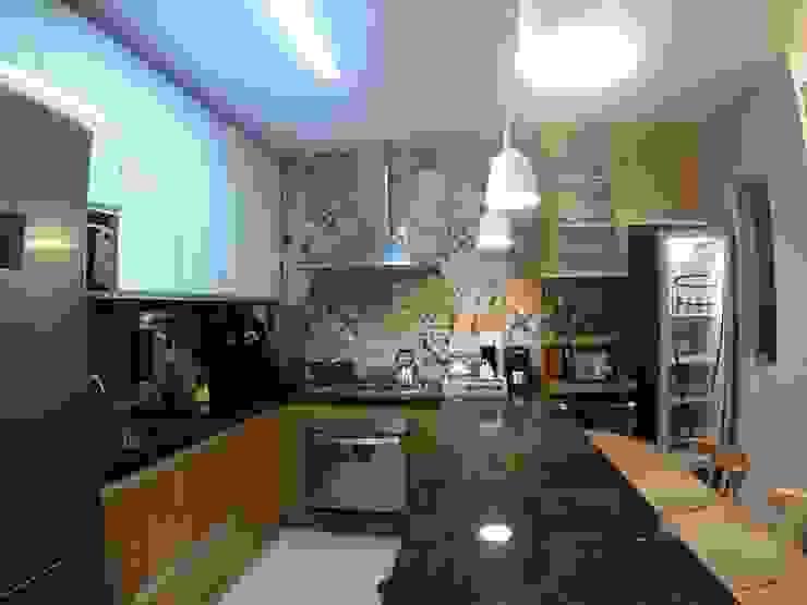 Cocinas de estilo rústico de Novark Arquitetura e Design Rústico