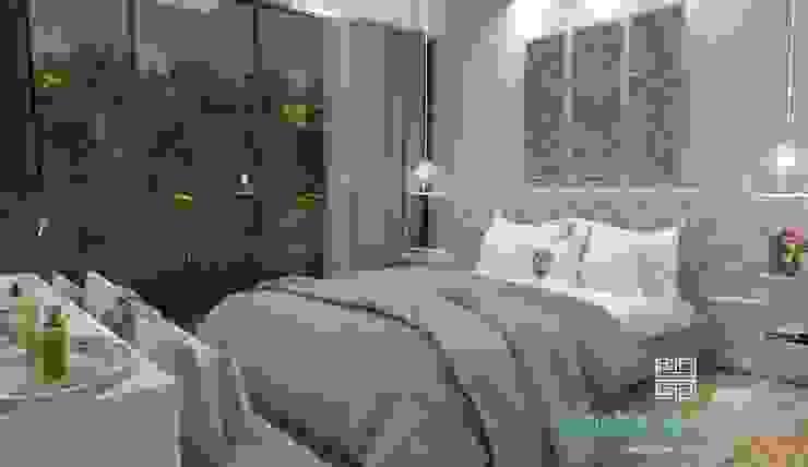 Stephanie Guidotti Arquitetura e Interiores Dormitorios de estilo clásico Gris