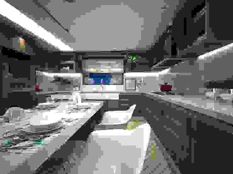 Stephanie Guidotti Arquitetura e Interiores Cocinas de estilo moderno Blanco