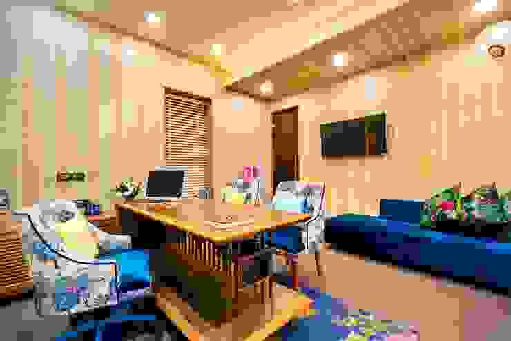 Owner's Cabin by VB Design Studio Eclectic