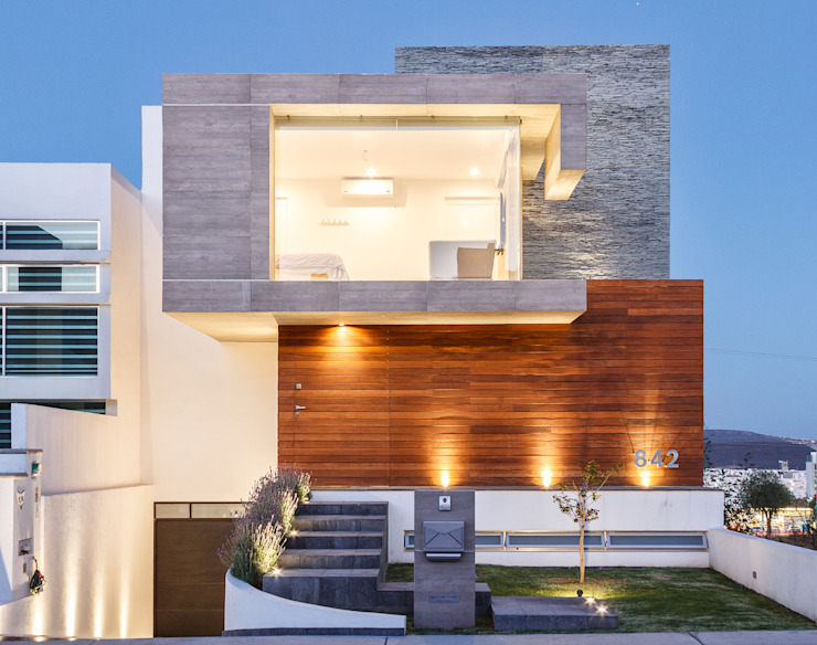 Case moderne di SANTIAGO PARDO ARQUITECTO Moderno