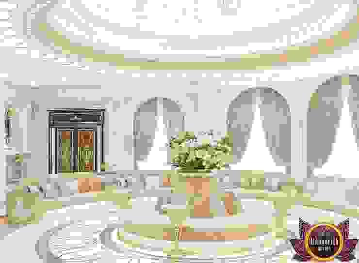Masterpiece interior design of Katrina Antonovich Classic style corridor, hallway and stairs by Luxury Antonovich Design Classic