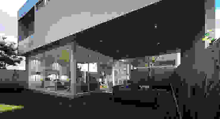 Fachada Posterior Casa AI TaAG Arquitectura Casas minimalistas