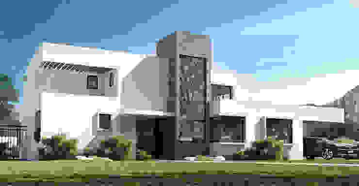 Casa Grilli Casas de estilo mediterráneo de homify Mediterráneo Ladrillos