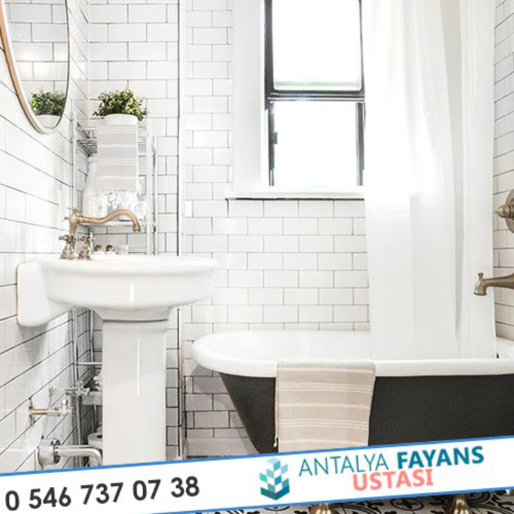 Modern bathroom by Antalya Fayans Ustası - 0 546 737 07 38 Modern Ceramic