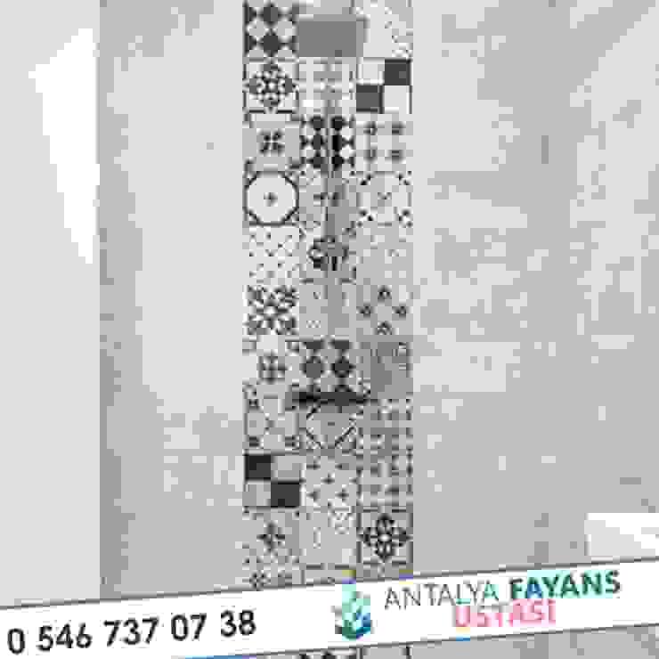Modern Bathroom by Antalya Fayans Ustası - 0 546 737 07 38 Modern Ceramic