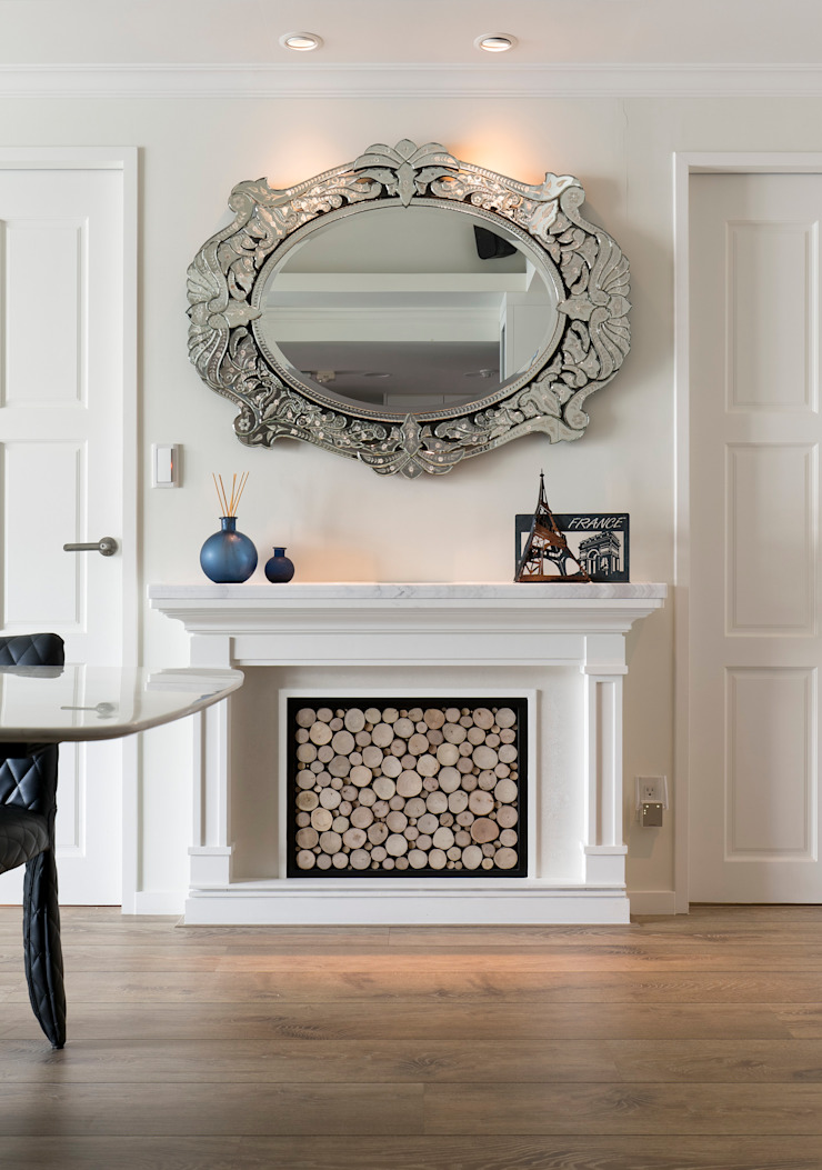 歡樂時刻 Leisure 經典風格的走廊,走廊和樓梯 根據 耀昀創意設計有限公司/Alfonso Ideas 古典風
