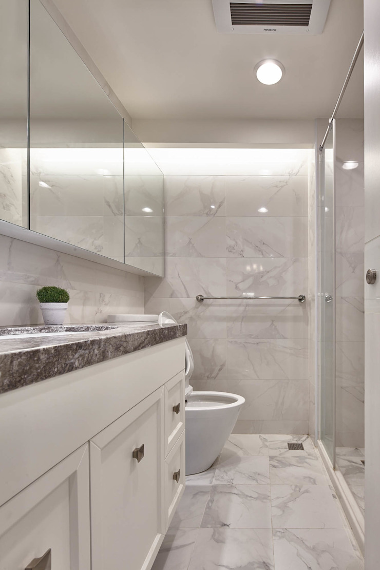 Country style bathroom by 耀昀創意設計有限公司/Alfonso Ideas Country