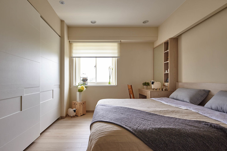 Country style bedroom by 耀昀創意設計有限公司/Alfonso Ideas Country