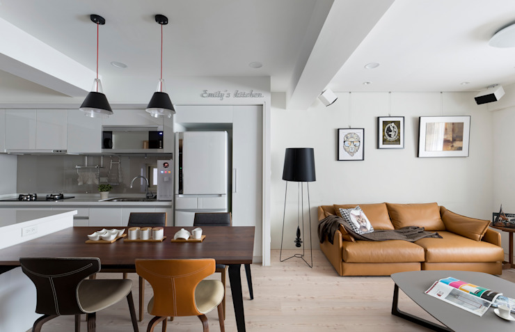 耀昀創意設計有限公司/Alfonso Ideas ห้องครัว