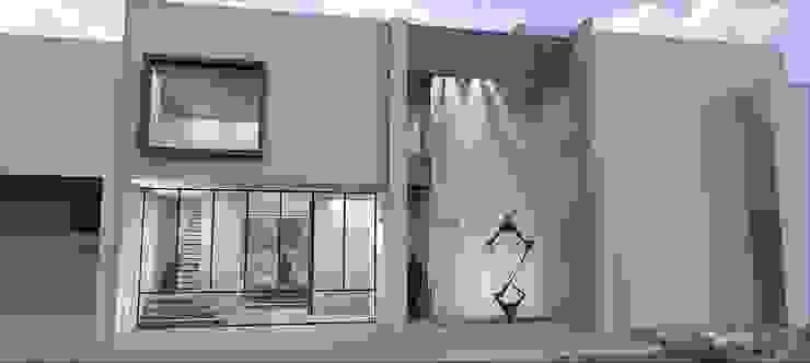 Fachada principal Casas modernas de SG Arquitectos Moderno