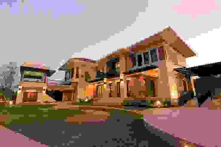 บ้านพักอาศัย 2 ชั้น (AR-015) โดย บริษัท อเรย์ คอนสทรัคท์ชั่น จำกัด
