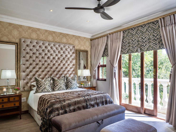 Bedroom Interior:  Bedroom by Carne Interiors
