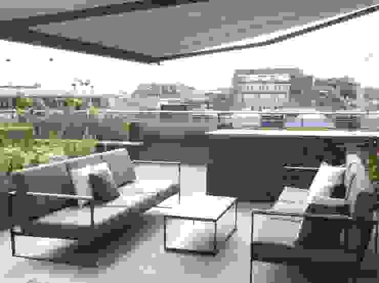 Ganton Street Roof Terrace by Aralia Modern Stone