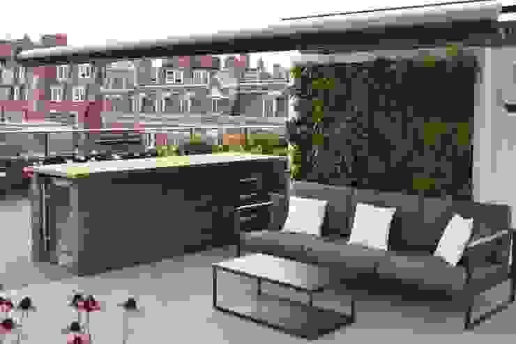 Ganton Street Roof Terrace by Aralia Modern Slate