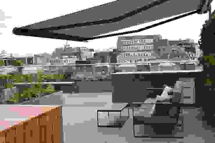 Ganton Street Roof Terrace by Aralia Modern Metal