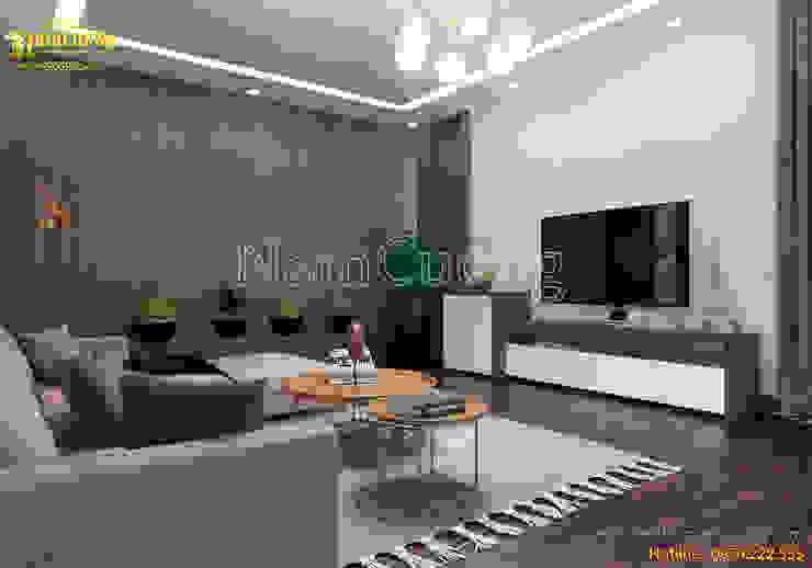 NamCuong design company bởi Công ty Cổ phần tư vấn thiết kế xây dựng Nam Cường Hiện đại