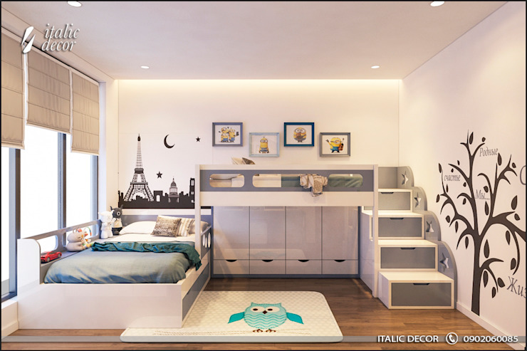 Nursery/kid's room by ITALIC DECOR